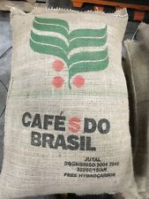 20 lb Brazil All Green Unroasted Raw Coffee Beans Smooth, Clean Cup