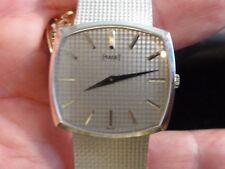 PIAGET~Mens Dress~18K White Gold Bracelet Watch~Mechanical (9P)~83 Grams~$14,000