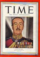 1939 Time October 23-Grant Wood; Jimmy Stewart; Finland