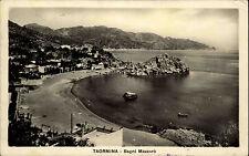 Taormina Sizilien Italien Italia ~1920/30 Bagni Mazzarò Küste Strand Meer Mare