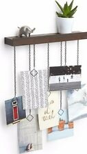 Black Shelf Hang It Large Multi Photo Picture Family Display Art Home Wall Frame