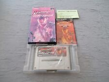 >> INDY INDIANA JONES ACTION SFC SUPER FAMICOM JAPAN IMPORT COMPLETE IN BOX! <<