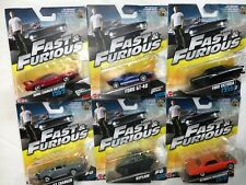 Fast and Furious Diecast Vehicles all your Favourites     LOT OF 6