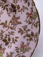 Royal Chelsea English Bone China SUNSHINE 8606 H China CHOICE Roses Gold Leaves