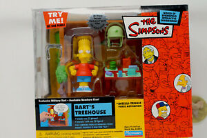 THE SIMPSONS : BARTS TREEHOUSE PLAYSET Action Figure Playmates Toys