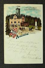 Chemnitz Adelsberg mit Bismark Denkmal von 1905 / AK 100