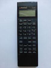 MATSUI VCR REMOTE CONTROL for VX2000