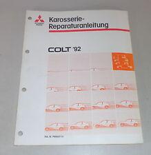 Werkstatthandbuch Mitsubishi Colt CAo Karosserie ab Baujahr 1992
