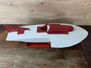 Vintage RC Speed Boat Racing Boat