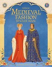 Medieval Fashion Sticker Book Paperback