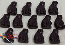 Black Cats (Aniseed Gummy Lollies) - 1kg - Allseps (Australian Made)