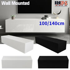 Modern TV Stand Wall Mount Console Cabinet Storage Shelf Living Room Furniture