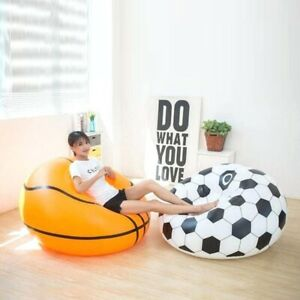 Indoor/Outdoor Inflatable Basketball Football Party Lazy sofa chair Children