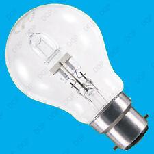 2x 70W (=100W) Klar Dimmbar Halogen GLS Energiesparlampen BC B22 Lampe