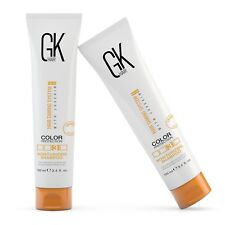 GKhair Moisturizing Shampoo Set of 2 Color Protection Dry Hair Moisturizer 100ml