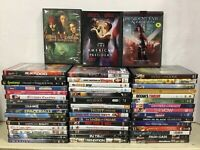 LOT OF 10 ADULT DVD ASSORTED MOVIES and Tv Shows! RANDOM MIXED LOT PG-R Used