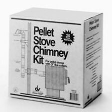 """NEW SELKIRK 284875 3"""" TO 4"""" THRU THE WALL HIGH ELEVATION PELLET STOVE VENT KIT"""