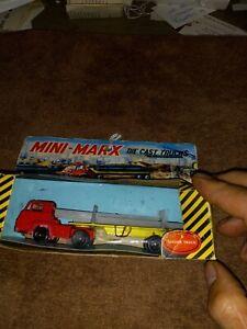 Vintage Mini Marx Toy Truck Sealed in Box 5 Girder Truck