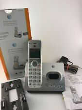 AT&T Cordless Digital Answering System EL52103 Caller ID Call Waiting TESTED