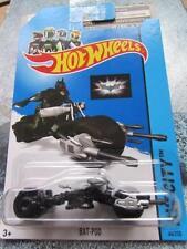 Hot Wheels 2014 #064/250 BAT-POD New Casting 2014 HW CITY Batman Bike Long Card
