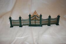 Department 56 Heritage Village Accessory Village Wrought Iron Gate & Fence 9pc
