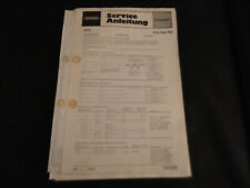 Original Service Manual Schaltplan Grundig City Boy 700