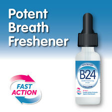 B24 BREATH FRESHENING DROPS – FRESH BREATH FRESHENER STOP HALITOSIS NOW