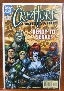 DC Comics Creature Commandos #3 Direct Edition Ungraded NM Comic Book