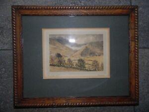 Mardale, Cumbria. 1935 Landscape Watercolour by G B Hodgson