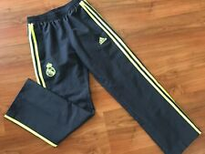 Boys GREY ADIDAS REAL MADRID TRACKSUIT Bottoms (age9-10) *NICE COND*