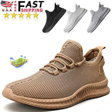 Comfortable Fashion Men's Breathable Gym Sneakers Walking Running Tennis Shoes