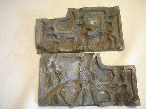 Vintage....Foundry....Lead....WWII....Soldiers...3..Man...Mold...5674
