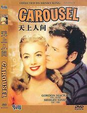 Carousel All Region DVD  Gordon MacRae, Shirley Jones, Cameron, Henry NEW UK R2