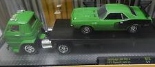 DODGE BOYS SCAT PACK 1971 PLYMOUTH CUDA GREEN 383 TRUCK COE L600 MOPAR 15-12 M2