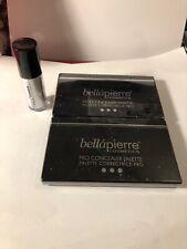 New Bellapierre 2- Pro Concealer Palette & 1- Shimmer Roll In Lustre Sealed 3pc