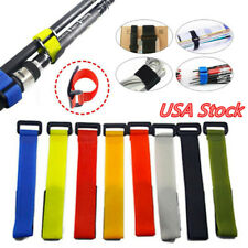 10X Outdoor Fastener Fishing Rod Tie Fishing Accessories Battery Straps Tools Us