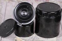 Jupiter-12 35mm f/2.8 Lens in Kiev-Contax mount, camera Kiev Soviet