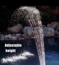 Swimming Pool Waterfall Fountain Spay Water Feature Pool Decor Kit