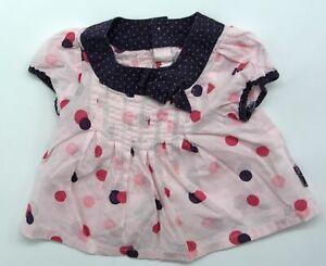 Tolles französisches Baby Tunika Shirt von Sergent Major Größe 1M 50 56