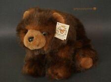 "THE BEARINGTON COLLECTION BROWN BEAR BABY BENJAMIN PLUSH 8"" TALL"