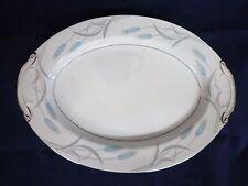 "Vintage Valmont China Japan ROYAL WHEAT Oval Serving Platter 12"""