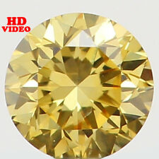 2.60 MM 0.074 Ct Natural Loose Diamond Cut Round Shape Yellow Color SI1 N5108