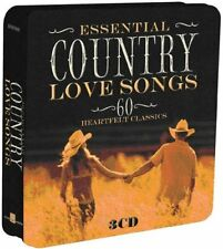 Essential Country Love Songs 60 Heartfelt Classic Collectors Tin 3 CD