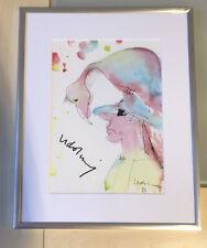 Udo Lindenberg Kunstdruck Reprodruck Bild Handsigniert Gerahmt