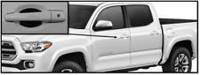 Carbon Fiber Door Handle Scratch Protector Guard Trim Fits Toyota Tacoma 4 Pack
