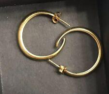 J Crew Demi 14 K Gold Filled Classic Hoops