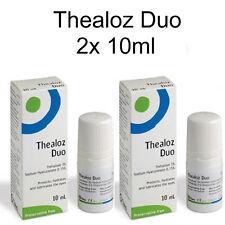 Thealoz Duo Drops Hydrates / Lubricates Dry Eyes - Preservative Free  2 x 10ml