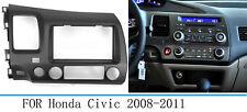 Car Stereo Radio Fascia Dash  Panel Trim 2 Din Frame For Honda Civic 2008-2011