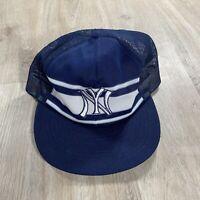 Vintage Sports Specialties New York Yankees Snapback Hat MLB Blue Baseball Cap