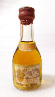 Old Vintage Mini Bottle ✱ DELAMAIN & C ✱ Petit Bouteille Cognac France